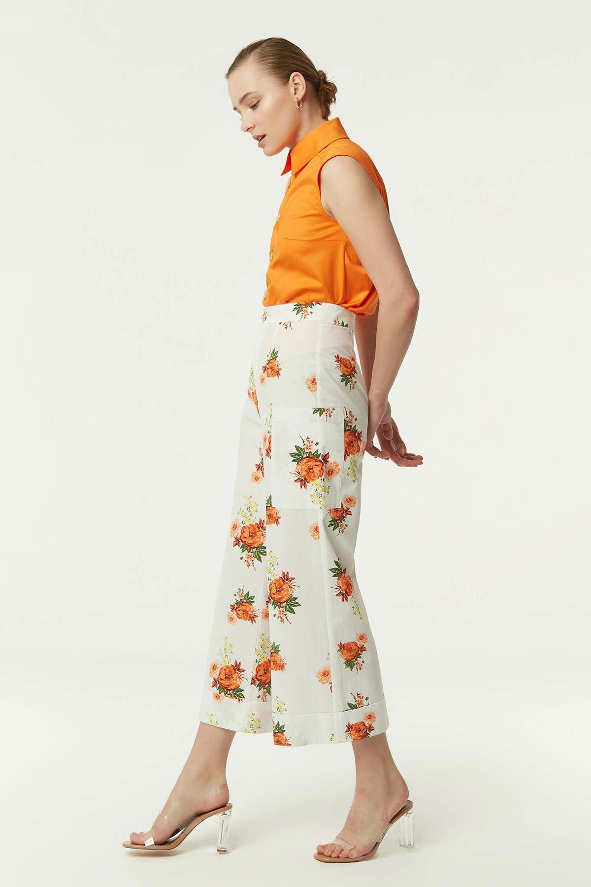 Culotte Pantolon Oranj