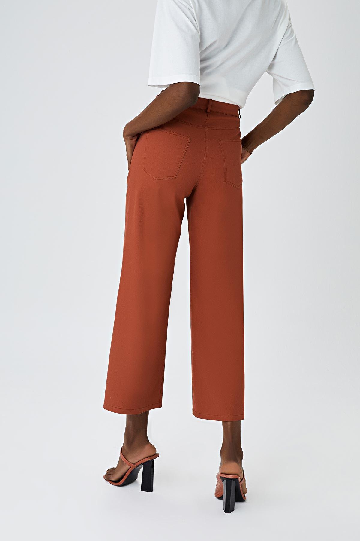 Cepli culotte pantolon Kiremit