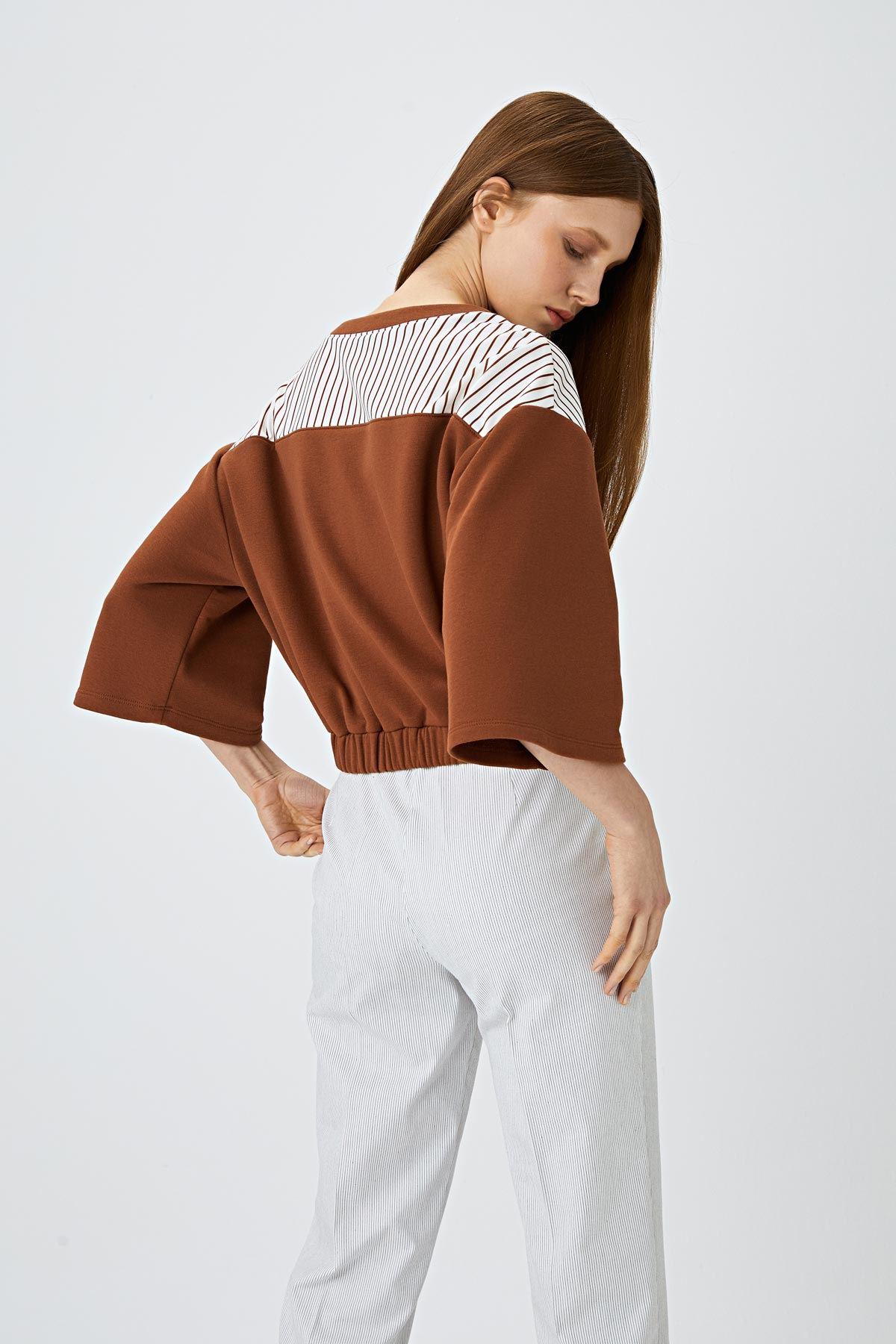 Cropped sweatshirt Taba